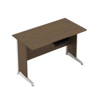 Meja Kantor meja kerja Modera AOD 7516 Uk.160x75x75 cm Wrn Walnut