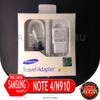 TRAVEL CHARGER / CASAN SAMSUNG GALAXY NOTE 4 FAST CHARGING ORI 100%