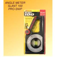 Angle Angel Meter Slant 100 Prosnip Alat ukur kemiringan sudut