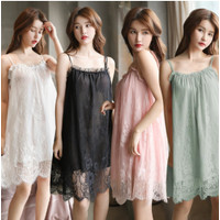 Baju Tidur Wanita Set Dress Lingerie Sexy Piyama Dewasa Fashion Impor