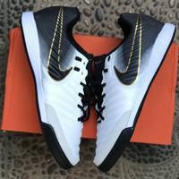 Sepatu futsal Nike Tiempo X Finalle Black White IC Premium