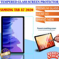 Samsung Galaxy Tab A7 10.4 2020 SM T505 Tempered Glass Antigores Clear - Bening