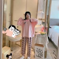 Piyama 498 Import Baju Tidur Panjang Anak Perempuan Remaja Wanita