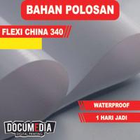 Bahan Spanduk / Banner Polosan Flexy / Flexi China 340 gsm