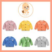 Jaket Cardigan Rajut Anak Bayi Premium Bermotif 100% IMPOR GRADE A