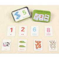 Mainan Edukasi Cognition Puzzle / Puzzle Kartu Mencocokkan Gambar