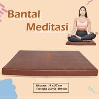 Alas Duduk Bantal Meditasi Kotak / Bantal Yoga Meditasi Jakarta