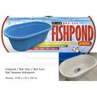 Fishpond Kolam Bak Ikan Benur Lobster Tanaman Hidroponik 250 Liter