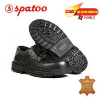Sepatu Safety Pendek Bahan Kulit Sapi Asli Fd. 10 Dijamin Kulit Asli