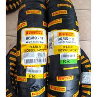 Paket Ban Pirelli Diablo Rosso sport 90/80 17 & 80/80 17