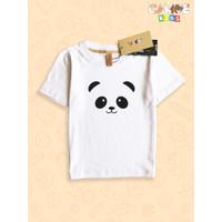 Kaos Baju anak Kids Panda face cute