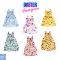 Daster Yukensi Anak Perempuan Murah Dress Motif Karakter 1-6 Tahun COD