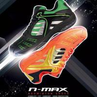 New Sepatu Badminton HiQua N-Max N Max Original