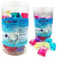 Sabun Cuci / Laundry Gel Beads 1 Box Isi 50pcs / Sabun Cuci Antiseptik