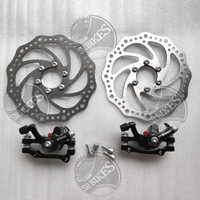 Rem Cakram Set Disc Brake Set Mekanik Sepeda (Ulir / Baut) ETERNA