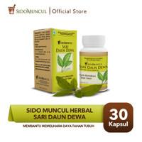 Sido Muncul Herbal Sari Daun Dewa 30'k - Hambat Sel Tumor & Kanker