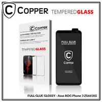 Asus Rog Phone 3 - COPPER Tempered Glass FULL GLUE PREMIUM GLOSSY