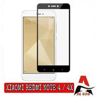 Tempered Glass XIAOMI REDMI NOTE 4 4X Full Cover Anti Gores Kaca