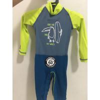 Baju Renang Bayi / Swimsuit Baby Lengan Panjan 0-6 bulan