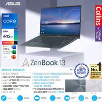 ASUS ZENBOOK UX325EA I7-1165G7 16GB 512GB 13.3 FHD IPS NUMPAD OHS W10