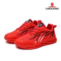 Larocking - Thunder Vol 1 Merah | Sepatu Sneakers Running Gym Shoes - Merah, 40