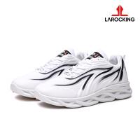 Larocking - Thunder Vol 1 Putih   Sepatu Sneakers Running Gym Shoes - Putih, 42