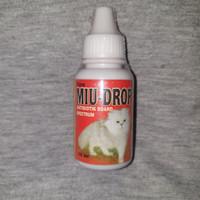 obat antibiotik untuk pencernaan kucing/miu drop 30ml
