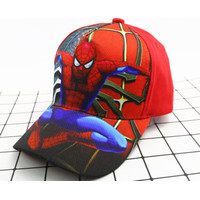 Topi Baseball Anak Spiderman Hip Hop Fashion Korea Impor