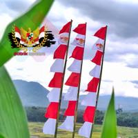 Bendera umbul umbul merah putih 8 gergaji