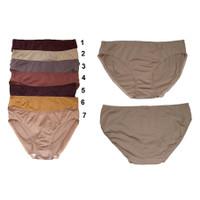 Panty Katun Rosebud polos available 7 colors