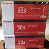 CARTRIDGE TONER CANON 303/ LBP2900 LBP3000 BLACK ORIGINAL