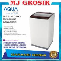MESIN CUCI AQUA JAPAN AQW 98 DD 9KG 1 TABUNG 98DD TOP LOADING HIJAB