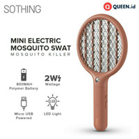 Xiaomi SOTHING Raket Nyamuk Mini Electric Mosquito Racket LED