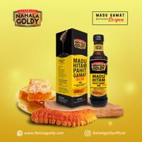 NAHALA GOLDY MADU HITAM PAHIT GAMAT GOLD