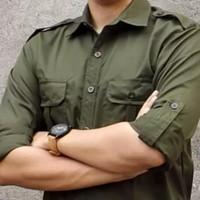 Kemeja Outdoor / Baju Pria Kemeja Lapangan / Baju Gunung / Kemeja PDL