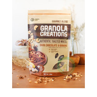 Granola Creation Chocolate Banana 400 g toasted muesli sereal