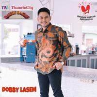 Bagus Baju Batik Pria Panjang Doby Full Furing Motif Naga Nogo Sosro