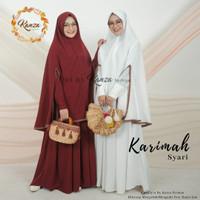 baju gamis muslimah syari dress KARIMAH SYARI ORI KANZA