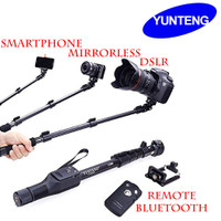 Original Yunteng 1288 with Tripod - Tongsis Bluetooth HP Kamera DSLR