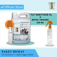 Hand Sanitizer TLF Antiseptik Cair 5 Liter + Botol Trigger 250ml