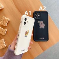 Case Iphone 7 8 PLUS X XS XR XSMAX 11 12 MINI PRO MAX -Banana cute