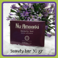 Sabun Nu Amoorea beauty bar 30gr(1 box isi 2)