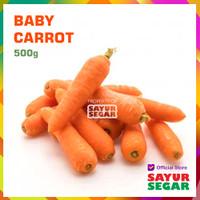 BABY CARROT / WORTEL MINI [500g]