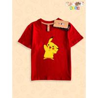 Kaos Baju anak Kids Pokemon Pikacu Pikachu
