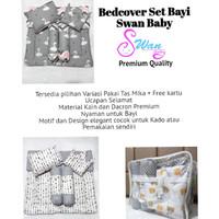 Bedcover Bayi Set Swan Baby