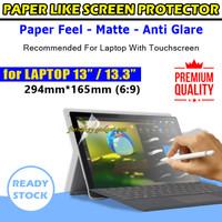 Paper Like Antigores Screen Protector Antiglare Laptop 13 13.3 inch