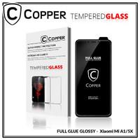 Xiaomi A1/5X - COPPER Tempered Glass FULL GLUE PREMIUM GLOSSY
