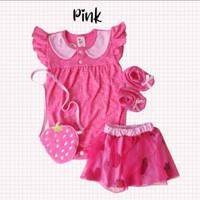 Strawberry Jumper / Jumper Bayi Perempuan Lucu Murah / Baju Bayi Cewe