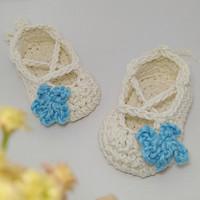 Sepatu bayi rajut Baby Ballet Flat Booties