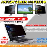 Laptop 17 18 inch Inci Privacy Screen Guard Anti Gores Spy Antigores